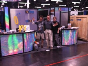 PMA 2010 - Anaheim - Day 1 Setup