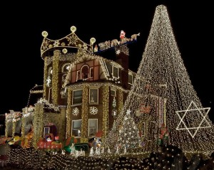 example of great holiday lights!
